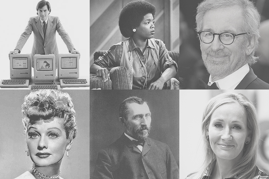 famous people who overcame failure