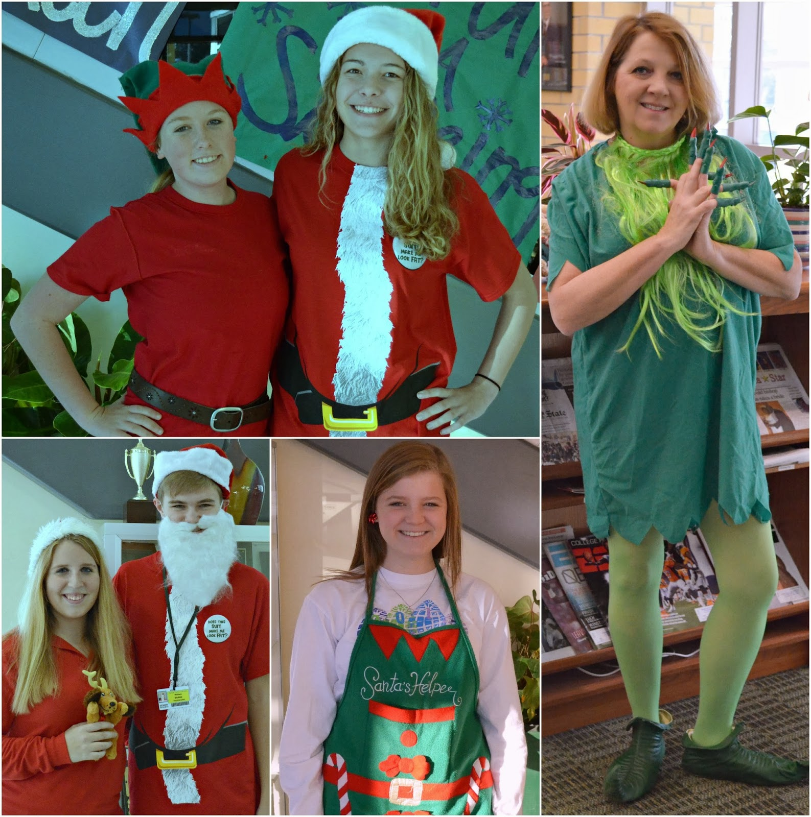 Holiday Spirit Days Holiday Character Day