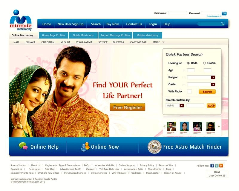 Intimate matrimony search by profile id