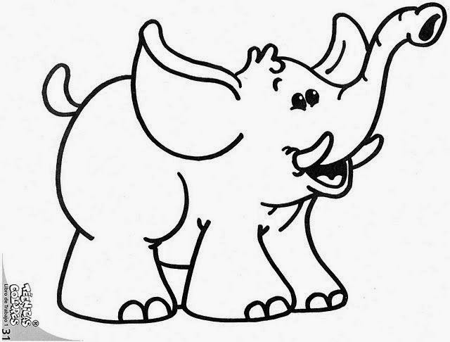 Siluetas De Elefantes Para Imprimir. Perfect Maestra De Primaria ...