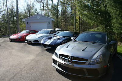 Mercedes AMG SL 65 Black Series