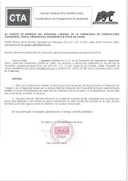 Remitimos al Comité de Empresa copia de la denuncia presentada ante la ITSS por la posible falta de