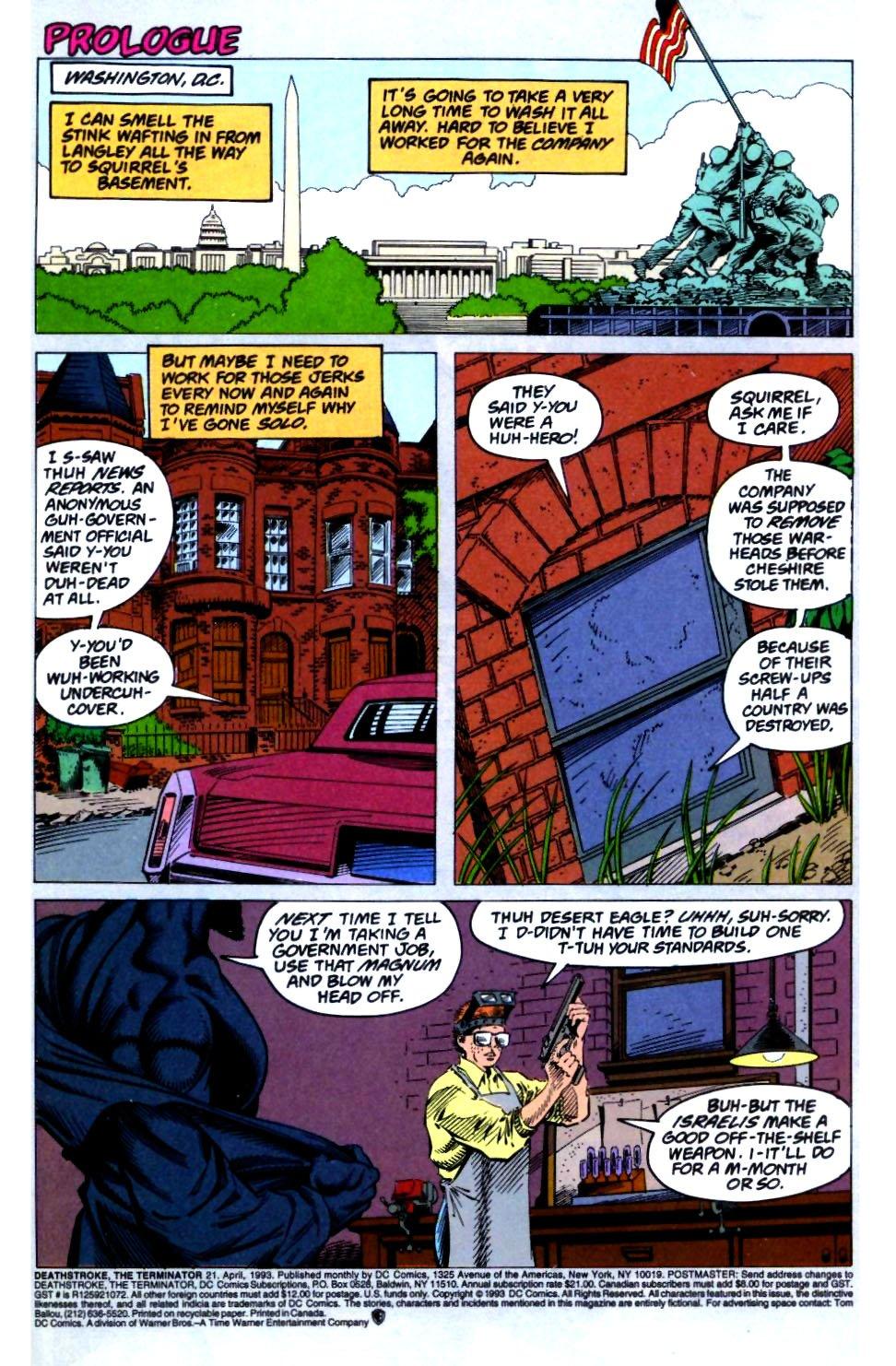 Deathstroke (1991) Issue #21 #26 - English 2