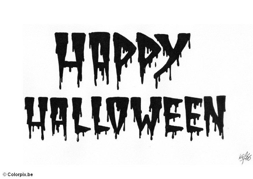 Jarvis Varnado: 11 Happy Halloween Coloring Pages