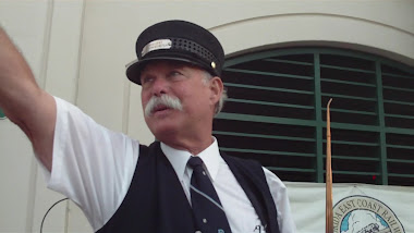 cabooseMikey conducts the Ghost Tour
