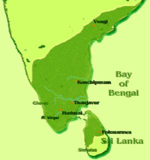 Dinastía Pandya - Territorio - Historia de las Civilizaciones