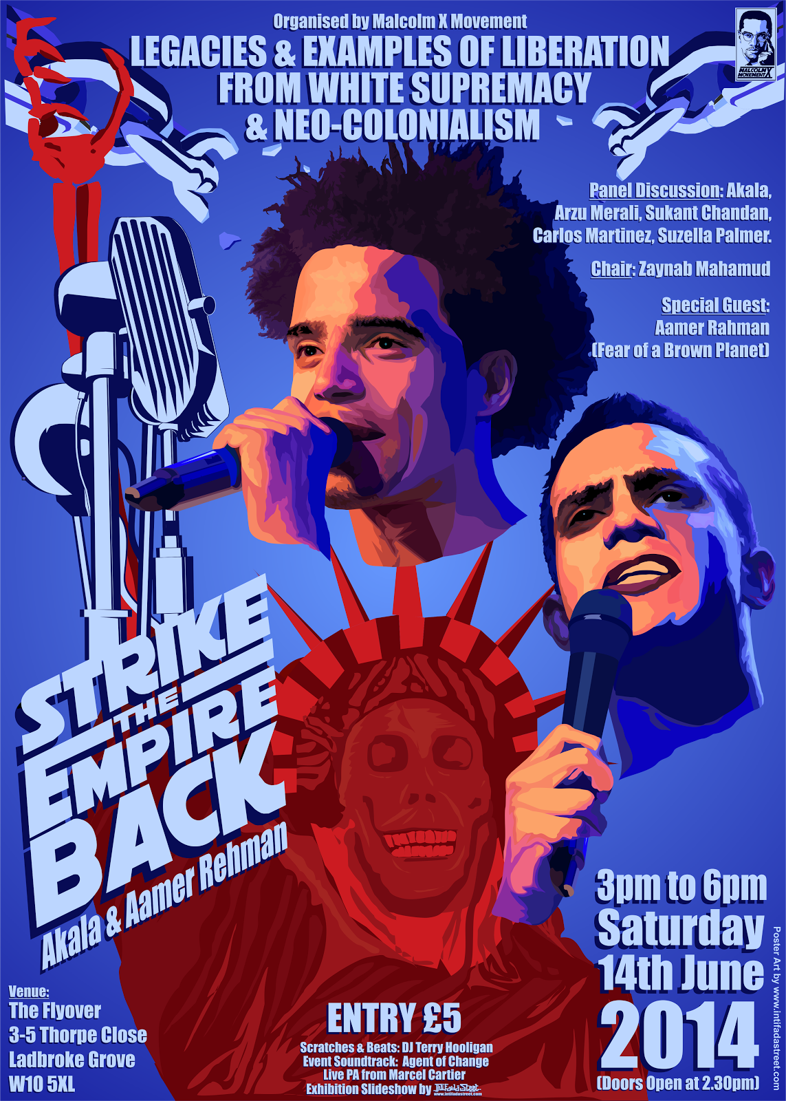 PUBLIC EVENT: STRIKE THE EMPIRE BACK: legacies and examples of liberation from neo-colonialism and