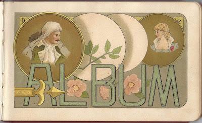 Heirlooms reunited 1880s autograph album of lura of the for La porte city iowa city hall