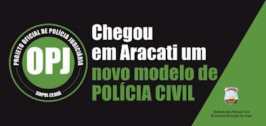 novo modelo de policia civil em Aracati