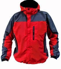 Jaket gunung waterpoor warna merah
