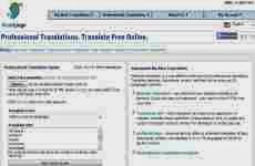 WorldLingo: traductor de idiomas online gratuito