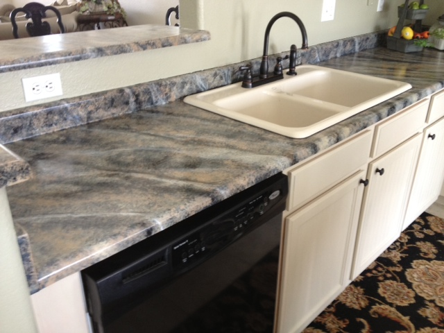 I Ordered A Kohler Cast Iron Sink In Almond To Match The Cabinet Color And  A Faucet. It Tied The Whole Makeover Together. I Hope You Enjoyed This DIY,  ...
