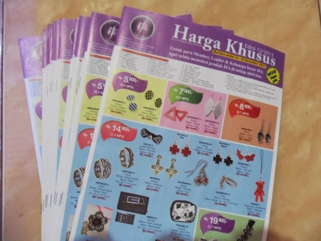 Katalog Harga Khusus