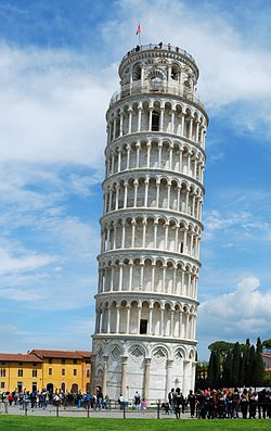 Construction of the Leaning Tower of Pisa