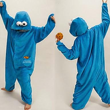 Pijama Disfraz Monstruo de las Galletas