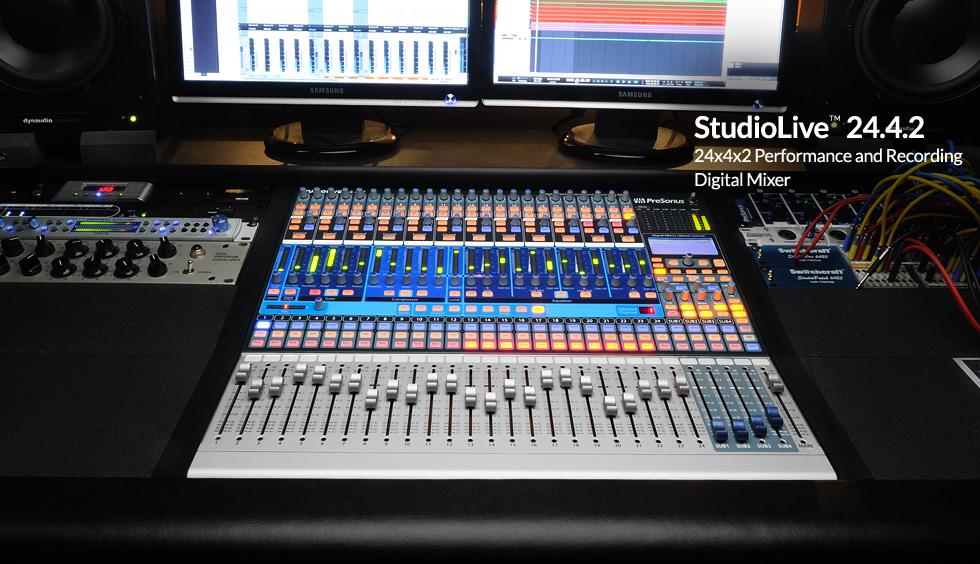 Adventures Of Sound Tech Guy Presonus Studiolive 24 4 2