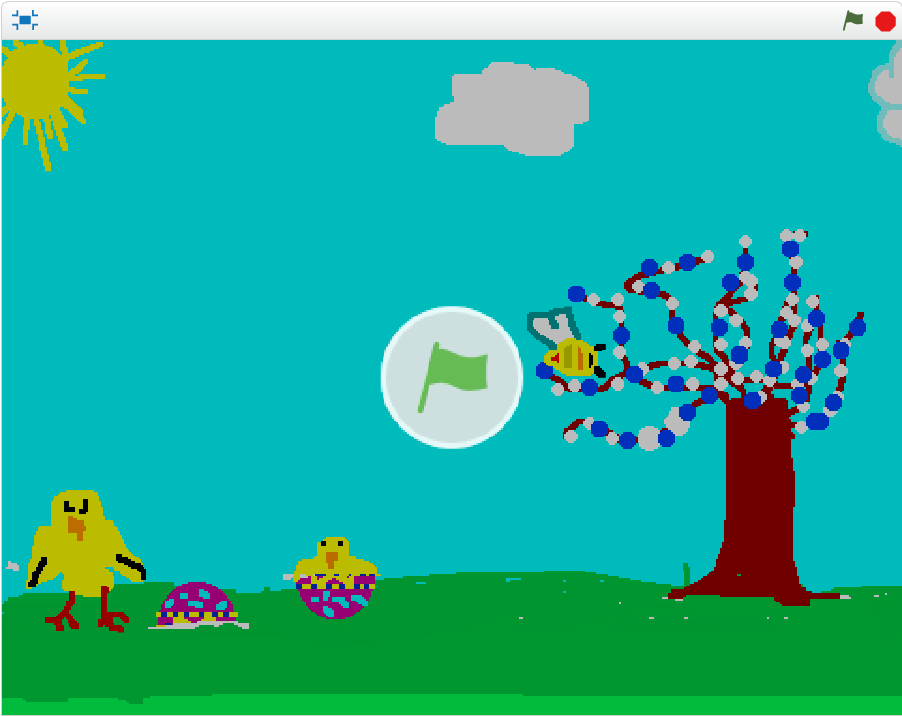 http://scratch.mit.edu/projects/19240688/#fullscreen