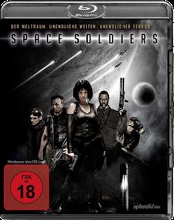 capa Space Soldiers BDRip AVI