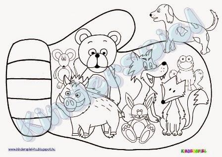 Kinderspiel: Handschuh – Dies und das