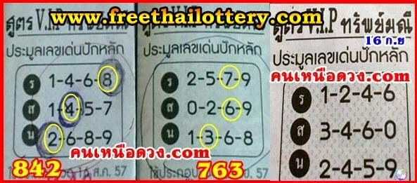 THai lottery Full Game sure HTF Tip paper 16-09-2014