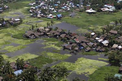 AS Kirim Bantuan pada Para Korban Banjir di Myanmar