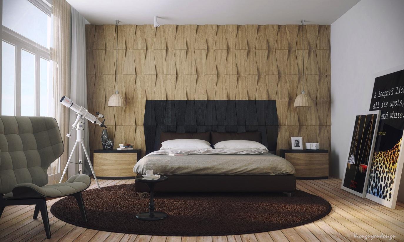 Deco chambre interieur: chambres à coucher avec des palettes neutres