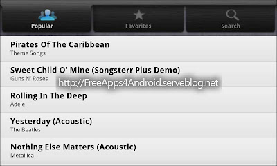 Songsterr Free Apps 4 Android