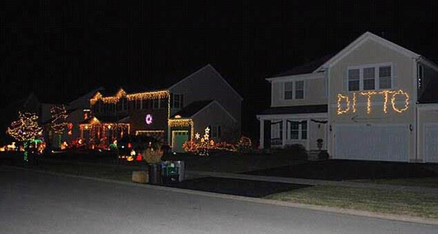 Electronic Village: Wordless Wednesday: Christmas Lights Envy
