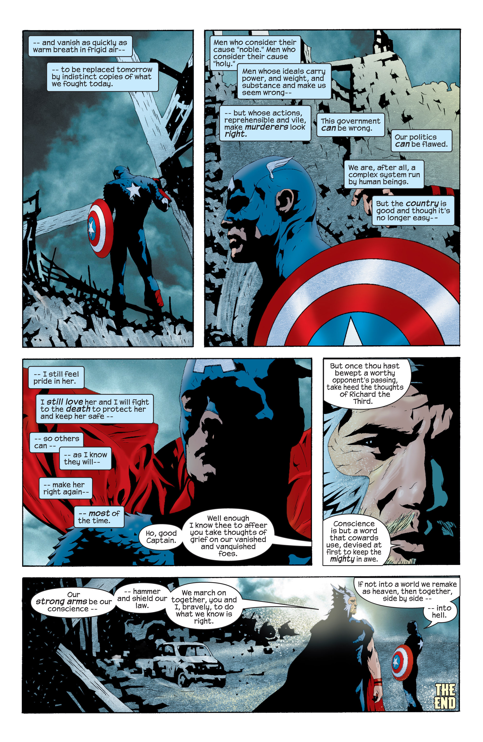 Captain America (2002) Issue #11 #12 - English 22