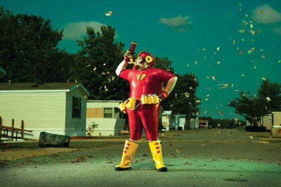 eric curtis fotografia fallen superheroes heróis acabados