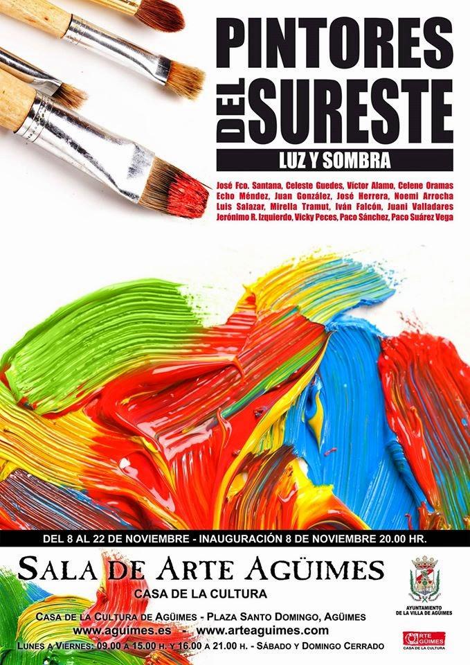 """""""Pintores del Sureste"""" en la Sala de Arte Agüimes"""