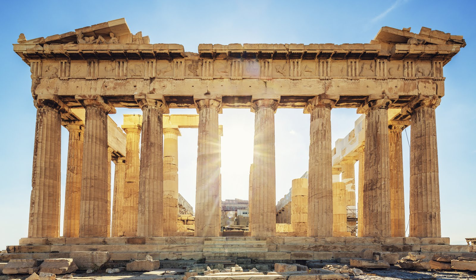 eScienceCommons: Optical experiment eyes Parthenon mystery