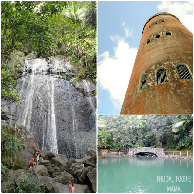 The El Yunque National Forest- the only tropical rain forest in the U.S. National Forest System- a definite must-do when in Puerto Rico!