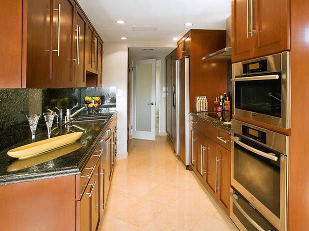 Gallery Kitchen Or Say Two Wall Kitchen Are Easy To Manage, Organize And  Can Be Kept Clutter Free Without Much Of Efforts. You Just Need To Design  The Given ...