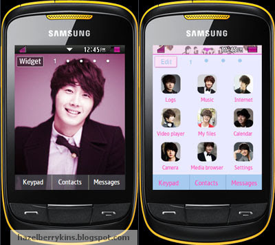 Jeong Il Woo Samsung Corby 2 Theme