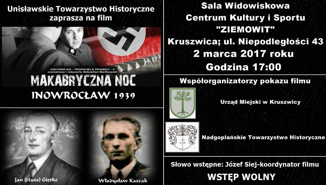 """""""Makabryczna noc"""" w Kruszwicy"""