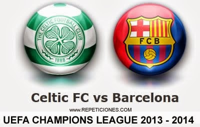 Celtic vs Barcelona en vivo