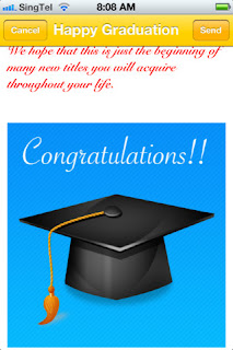 Graduation Cards! screenshot