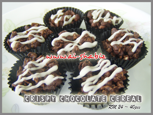 CRISPY CHOCOLATE CEREAL