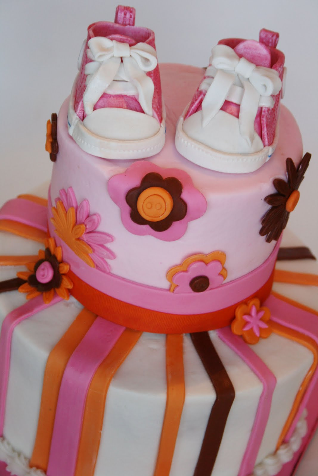 And Everything Sweet Pink And Orange Baby Shower