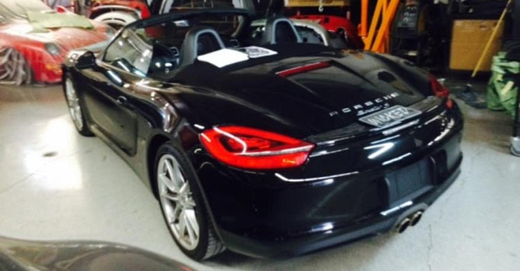 tuner wants to turn your boxster into a 918 spyder lookalike for 150 000. Black Bedroom Furniture Sets. Home Design Ideas