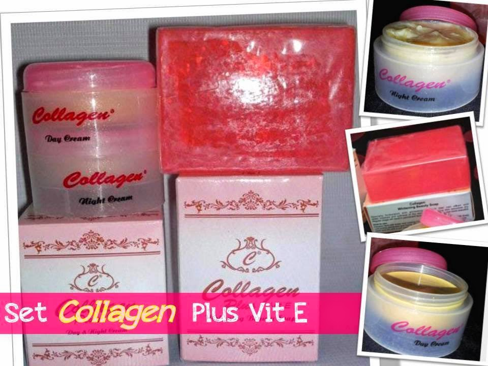 SET COLLAGEN PLUS VITAMIN E MURAH