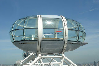 Fantastic view of London Eye