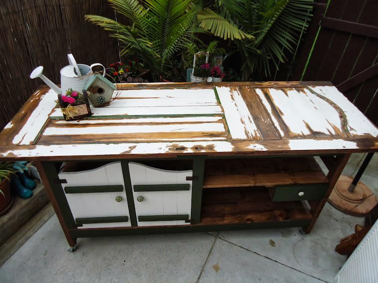 Old Door Table - SOLD