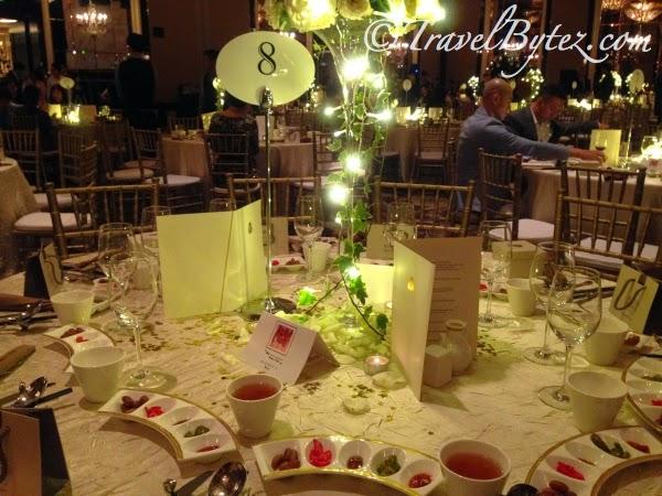 Wedding Dinner at St Regis