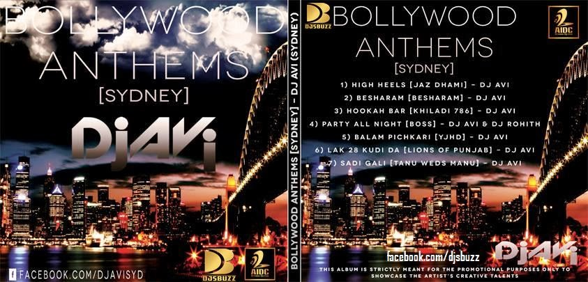 BOLLYWOOD ANTHEMS [SYDNEY] BY DJ AVI