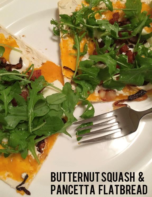 Recipe: Butternut Squash & Pancetta Flatbread