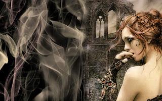 Vampires CG paintings art work