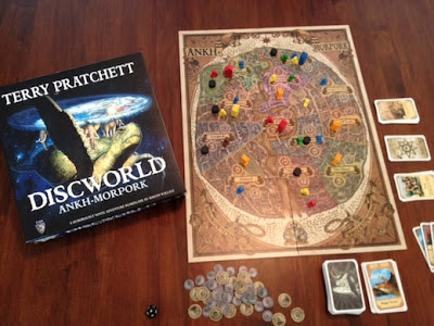 Discworld Ankh Morpork game in play