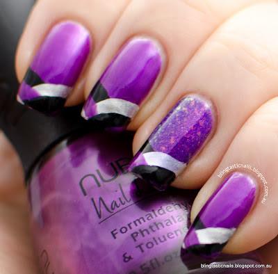 Nubar Pasadena Purple Fishtail Mani